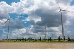 Huay Bong Wind Farm Stock Photos