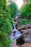 Huay Kaew water fall, in Chiangma, Thailand Stock Image