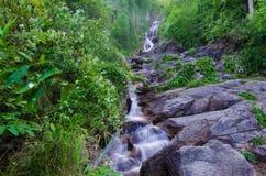 Huay Kaew waterfall, in Chiangmai, Thailand Stock Photos