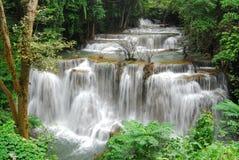 huay kamin mae瀑布 图库摄影