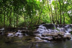 Huay mae ka min waterfall Royalty Free Stock Photography