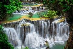 Huay mae Ka Min waterfall Royalty Free Stock Image
