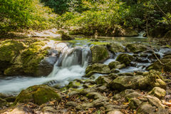 Huay Mae Kamin Thailand waterfall in Kanjanaburi Royalty Free Stock Photos
