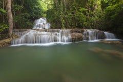 Huay Mae Kamin Wasserfall Lizenzfreies Stockfoto