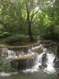 Huay Mae Kamin Wasserfall Stockfotografie