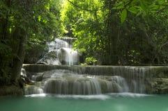 Huay Mae Kamin Waterfall Royalty Free Stock Photography