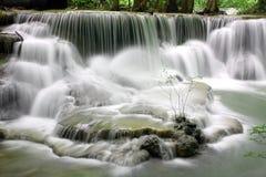 Huay Mae Kamin Waterfall Royaltyfria Foton