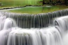 Huay Mae Kamin Waterfall Royaltyfri Fotografi
