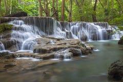 Huay Mae Kamin Waterfall Stock Images
