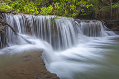 Huay Mae Kamin Waterfall Stock Photo