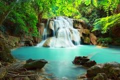 Huay mae kamin waterfall Royalty Free Stock Photo