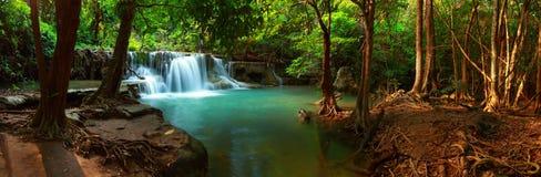 Huay mae kamin waterfall Royalty Free Stock Image
