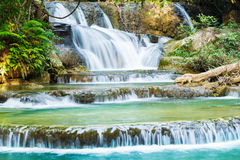 Huay Mae Kamin waterfall Stock Images