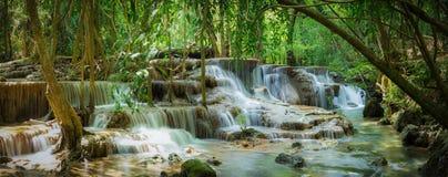 Huay Mae Kamin waterfall National Park Royalty Free Stock Photos