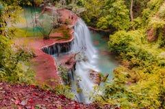 Huay Mae Kamin Waterfall National Park, Kanchanaburi Royalty Free Stock Image