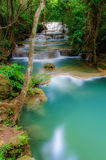 Huay Mae Kamin Waterfall National Park, Kanchanaburi Stock Images