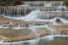 Huay Mae Kamin Waterfall Park Stock Images
