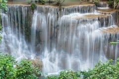 Huay Mae Kamin Waterfall Park Stock Photo