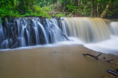Huay Mae Kamin waterfall, Thailand Stock Photo