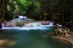 Huay Mae Kamin Waterfalls fotografia de stock royalty free