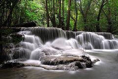 Huay Mae Khamin Waterfall Stock Image