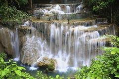 Huay Mae Khamin Waterfall Fotografie Stock