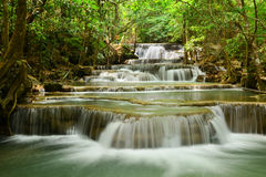 Huay Mae Khamin Waterfall Stock Fotografie
