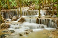 Huay Mae Khamin , Waterfall Stock Photography