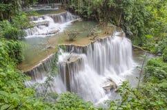 Huay Mae Khamin Waterfall Royalty Free Stock Photography