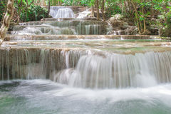 Huay Mae Khamin Waterfall Stock Photography