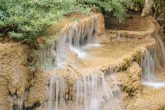 Huay Mae Khamin waterfall in National Park, Thailand. Royalty Free Stock Photo