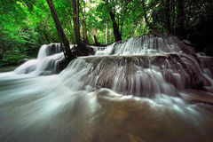 Huay Mae Khamin Waterfall ,Thailand Stock Images