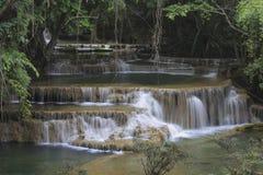 Huay Mae Khamin Waterfall Royalty Free Stock Photos