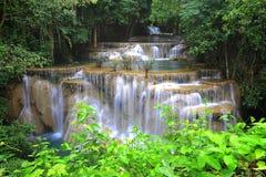 Huay Mae Khamin Waterfall Royalty Free Stock Photo