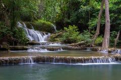 Huay Mae Khamin Waterfall Stock Image