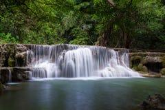 Huay Mae Khamin Waterfall Stock Photo