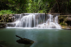 Huay Mae Khamin Waterfall Royalty Free Stock Images