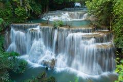 Huay Mae Khamin waterfalls Royalty Free Stock Image