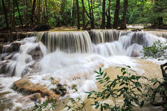 Huay mae khamin waterfalls Stock Photos