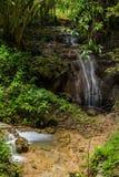 Huay Maekamin Waterfall Tier 5 Lhai Jon Lhong or Flow and Lost Royalty Free Stock Images