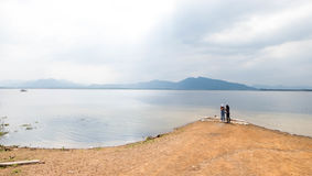 Huay Mai Teng reservior at Nam Phu, Ratchaburi Stock Photo
