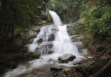 Huay Saai Leung Waterfall of Doiinthanon Stock Photos