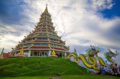 Huay Winkel- des Leistungshebelskung Tempel Lizenzfreie Stockfotografie