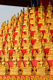 Huay Xai, Laos - Mars 03 2015: MERVÄRDESKATT CHOME KHAOU MANIRATN ett berömt Arkivbild