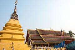Huay Xai, Laos - 3 marzo 2015: IVA CHOME KHAOU MANIRATN un famoso Fotografie Stock Libere da Diritti