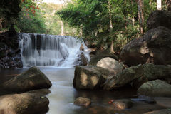 Huay Yang Waterfall at Prachuap Khiri Khan Province, Thailand Stock Photo