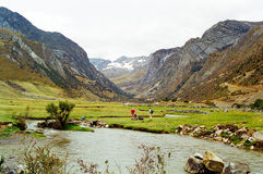 Huayhuash Trek, Peru Stock Photography