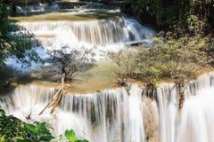 Huaymaekamin vattenfall Royaltyfri Foto