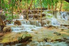 Huaymaekamin vattenfall Royaltyfri Fotografi
