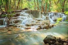 Huaymaekamin vattenfall Fotografering för Bildbyråer